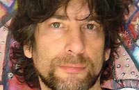 Comedy Fiction author Neil Gaiman